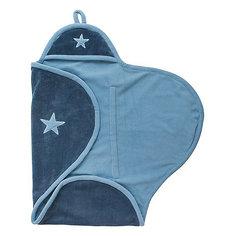 Флисовое одеяло-конверт, Jollein, Vintage blue
