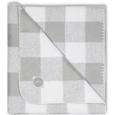 Байковый плед 100х150 см, Jollein, Check grey