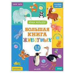 Большая книга животных (2-4 года), И.В. Мальцева Clever