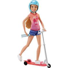 Кукла на самокате, Barbie Mattel