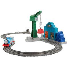 Набор с паровозиком Томасом и подъемным краном Крэнки, Томас и его друзья Mattel