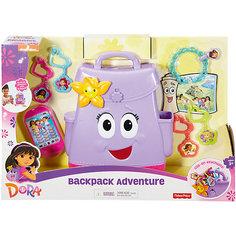 Рюкзачок Даши-путешественницы, Fisher Price, Даша и друзья Mattel