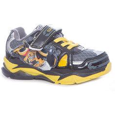 Кроссовки Transformers для мальчика Kakadu, черный, желтый