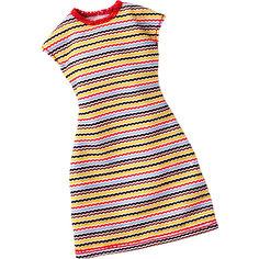 Универсальное платье для куклы (для всех типов фигур), Barbie Mattel