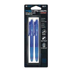 Ручка стираемая REMAKER, цвет синий, 2 шт. Alpino