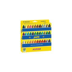 Восковые карандаши Ceras DACS, 36 цв. Alpino