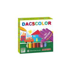 Восковые карандаши DACSCOLOR, 8 цв. Alpino