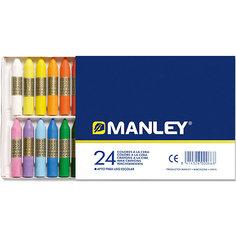 Восковая пастель MANLEY , 24 цв. Alpino