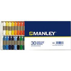 Восковая пастель MANLEY , 30 цв. Alpino