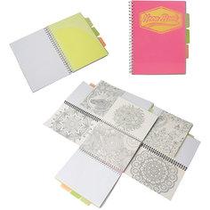 "Розовая тетрадь А5 ""Neon book"" 120 листов Limpopo"