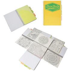 "Желтая тетрадь А5 ""Neon book"" 120 листов Limpopo"