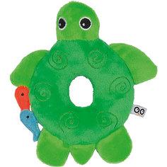 Погремушка Черепашка, Zoocchini, зелёный