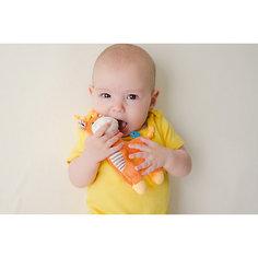 Погремушка Жираф, Zoocchini, оранжевый