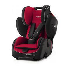 Автокресло RECARO Young Sport HERO 9-36 кг, Racing Red