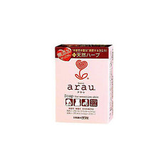 """Мыло """"Arau"""" для чувствительной кожи на основе трав, 100 гр., saraya"""
