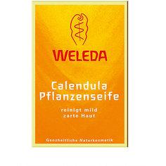 Мыло растительное с календулой и лекарственными травами, 100г., Weleda