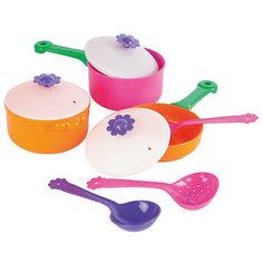 """Игровой набор посуды """"Цветок"""", 9 предметов, Mary Poppins"""