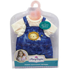 Одежда для куклы 42 см, комбинезон с футболкой, Mary Poppins