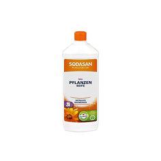 Мыло жидкое без запаха для мытья полов 1л, Sodasan