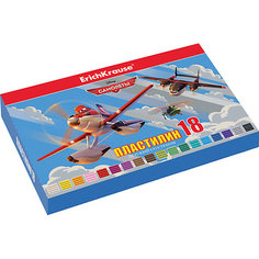 Пластилин 18 цветов Flying Planes, 324г, со стеком Erich Krause