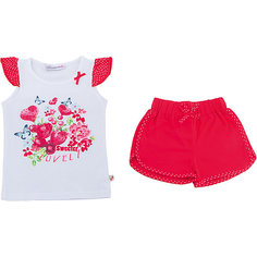 Комплект: футболка и шорты для девочки Sweet Berry