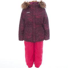 Комплект: куртка и полукомбинезон для девочки Luhta