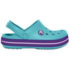 Сабо Crocband™ clog, голубой Crocs