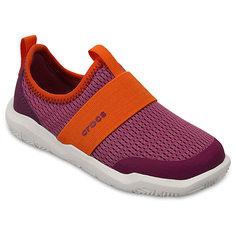 Кроссовки Kids Swiftwater Easy-On Shoes, розовый Crocs