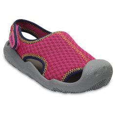 Сандалии CROCS Swiftwater Sandal, розовый