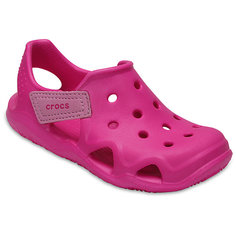 Сандалии CROCS Kids Swiftwater Wave, розовый