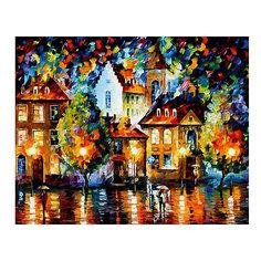 "Картина по номерам ""Афремов: Люксембург, ночь"", 40*50 см Molly"