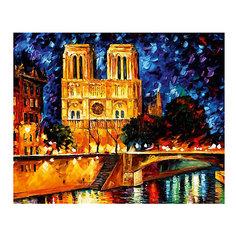 """Картина по номерам """"Афремов: Собор Парижской Богоматери"""", 40*50 см Molly"""