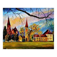 """Картина по номерам """"Афремов: Швейцария"""", 40*50 см Molly"""