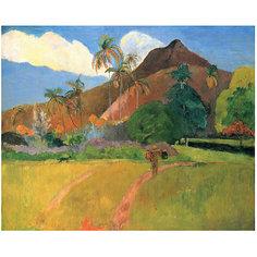 "Картина по номерам ""Гоген: Горы на Таити"", 40*50 см Molly"