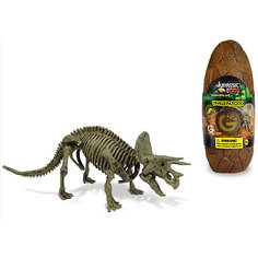 Яйцо динозавра - сборная модель Трицератопса, Geoworld