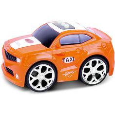 Машинка интерактивная со светом и звуком, оранжевая, Blue Sea