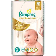 Подгузники Pampers Premium Care Midi, 5-9 кг., 60 шт.