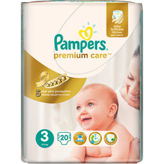 Подгузники Pampers Premium Care Midi, 5-9 кг., 20 шт.