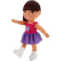Кукла Даша на катке, Fisher Price, Даша-путешественница Mattel