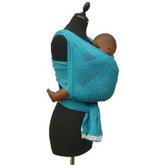 Слинг-шарф из хлопка плетеный размер l-xl, Филап, Filt, синий