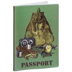 "Обложка для паспорта ""Рюкзак путешественника"", Феникс-Презент"