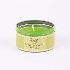 Свеча декоративная ароматизированная парафиновая с ароматом яблока, Феникс-Презент