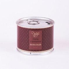 Свеча декоративная ароматизированная парафиновая с ароматом шоколада, Феникс-Презент