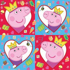 Салфетки  33*33 см, 20 шт., Peppa Pig Росмэн