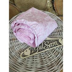 Простынь на резинке, розовый Gul Sara