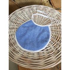 Фартук нагрудный, махровый, голубой Gul Sara