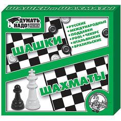 """Настольная игра """"Шашки, шахматы"""", Десятое королевство"""
