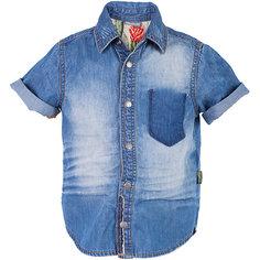 Рубашка джинсовая для мальчика Gulliver