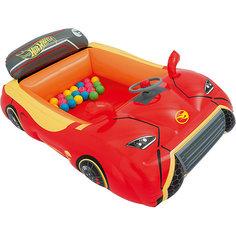 Игровой центр Машина с 25 шариками, Hot Wheels, Bestway