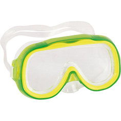 """Детская маска для подводного плавания """"Исследователь"""", зеленая, Bestway"""